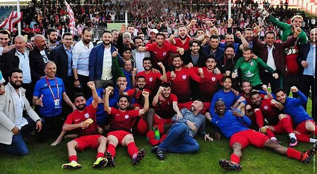 nevşehirspor şampiyon