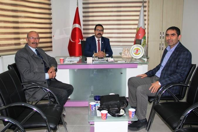 Doç. Dr. Özgür Özdemir'den Basın Kuruluşlarına ziyaretler 1