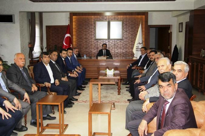Yeni Seçilen İl Genel Meclis Başkanı Ve Üyelerinden Ziyaret