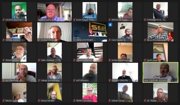 GK 20. Başkanlar kurulu video konferansta buluştu